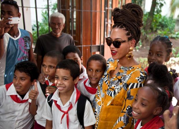 Beyonce is in Havana