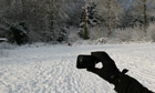 Measure the snow - then tweet