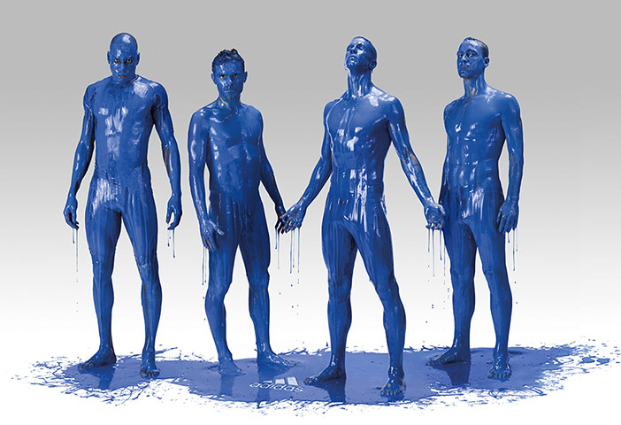 blue is the colour: Demba Ba, Juan Mata, Fernando Torres and John Terry