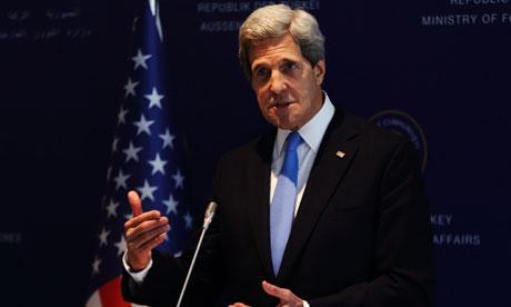Secretary of State Kerry in Turkey