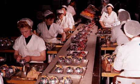 women production line