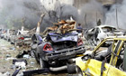 Damascus rocked by suicide bomb