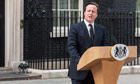 David Cameron makes statement on the death of Margaret Thatcher
