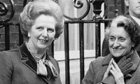 Margaret Thatcher and Indira Gandhi