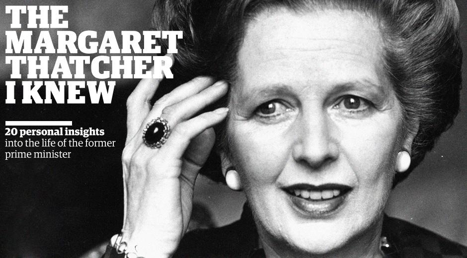 Margaret Thatcher header image