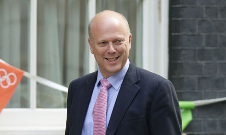 Chris Grayling criminals should pay legal costs