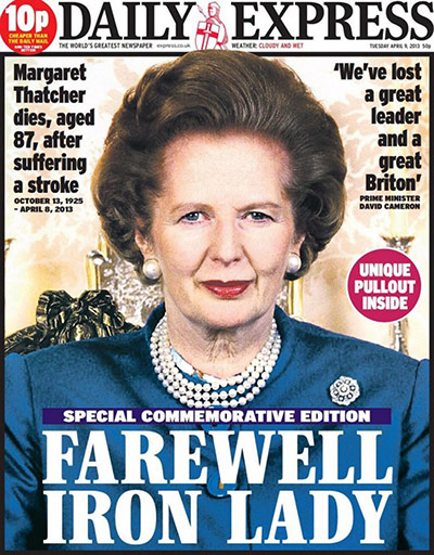 Maggie front pages: Maggie front pages