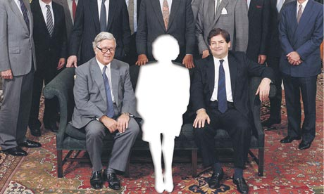 Thatcher's cabinet without Thatcher