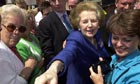 Thatcher campaigning