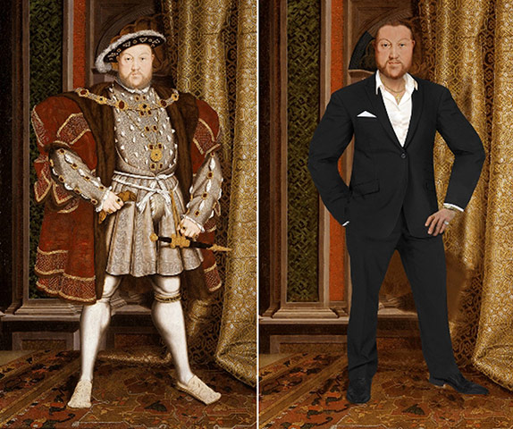 Pin-Ups From The Past: Henry VIII