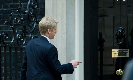 A wish come true: Jo Johnson calls on David Cameron.