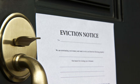 Benefits Cap Leads To Eviction Notices In Trial Area