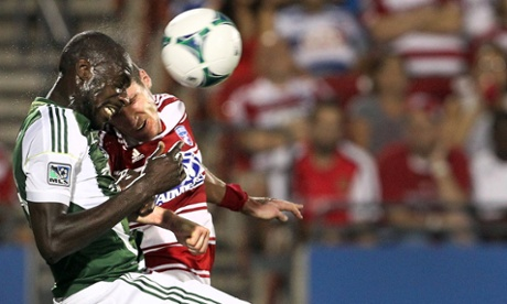 Kenny Cooper Mamadou Danso FC Dallas Portland Timbers
