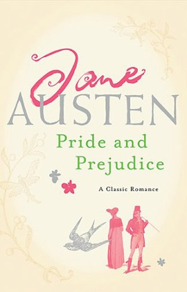 Headline's Pride and Prejudice cover.