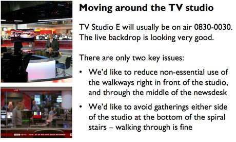 BBC moving around