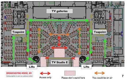 BBC floor plan