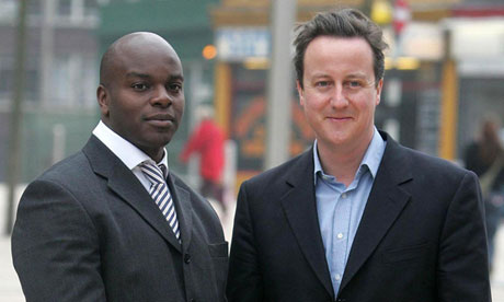 Shaun Bailey and David Cameron
