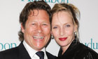 Donor Arpad Busson and wife Uma Thurman