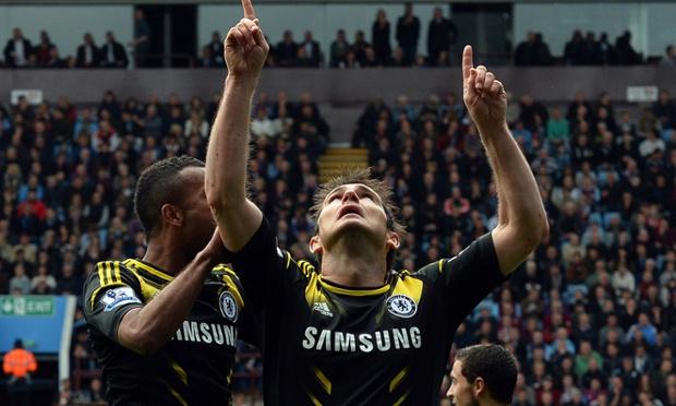 Frank Lampard: Chelsea's history man.