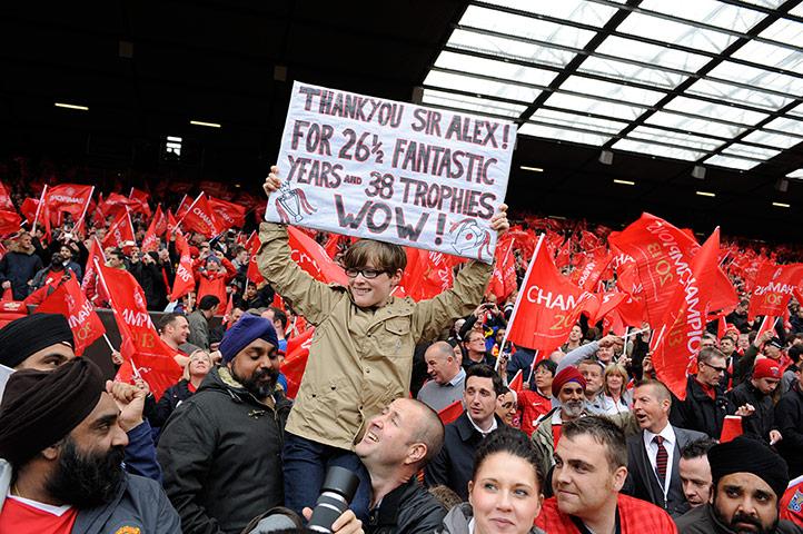 Fergie's farewell 2: Man Utd v Swansea