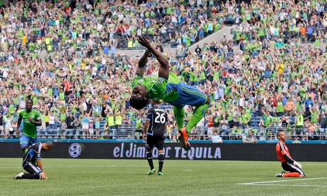 Seattle Sounders Obafemi Martins
