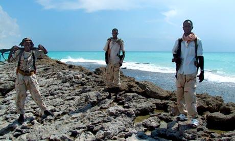 Somalia - Armed Somali pirates
