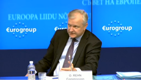 Olli Rehn at the Eurogroup, May 13 2013