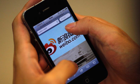 Weibo, microblogging site in China