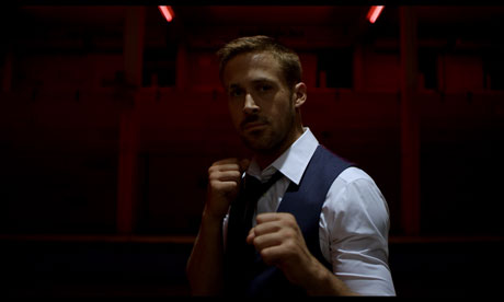Ryan Gosling in a film still frrom Only God Forgives