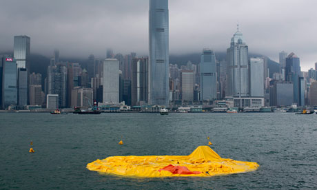 Hong Kong's Rubber Duck