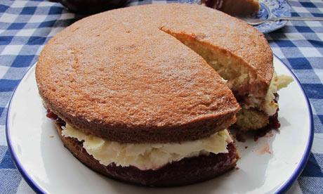 Felicity Cloake Sponge Cake