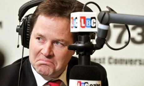 Nick Clegg on LBC.