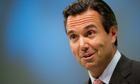 Antonio Horta-Osorio back in 2010 - he hasn't aged much and is smiling these days after returning the bank to more profitable ways.