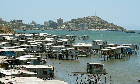 Papua New Guinea's capital, Port Moresby
