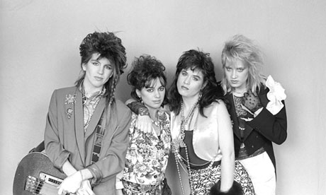 The Bangles: Prince gave them the song Manic Monday to record.