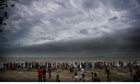 Cyclone Mahasen approaches, Bangladeshi coast
