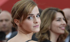 British actress Emma Watson poses on May