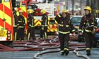 Firefighters in London