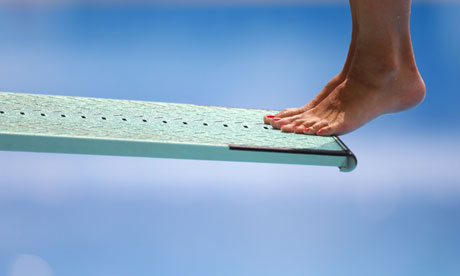 Diving board