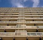 Social housing tower block Newington SE17 London England UK. Image shot 12/2007. Exact date unknown.