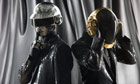 Daft Punk photographed at &#39;Electric&#39; in Paris, France