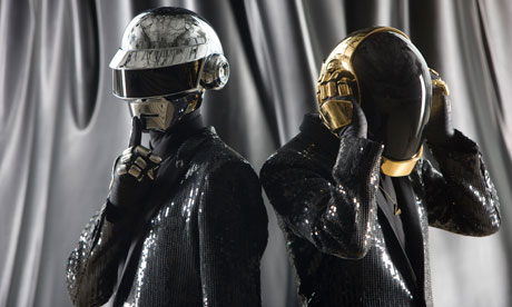 Daft Punk photographed at 'Electric' in Paris, France