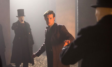 Matt Smith in The Name of the Doctor.