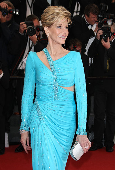 Cannes 2013: Eva Longoria, Jane Fonda, Gina McKee on the red carpet  in pictures