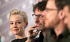 Carey Mulligan with Joel and Ethan Coen