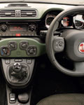 Fiat Panda 1.3 Multijet 75hp 4x4 dashboard