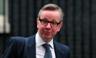 Education Secretary Michael Gove leaves