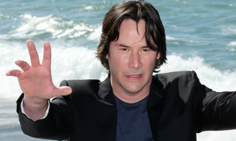 Actor Keanu Reeves poses for photographers during a photo call for the film Man of Tai Chi at the 66th international film festival.