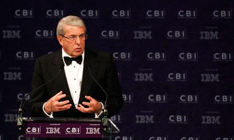 CBI president Roger Carr