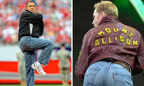 Barack Obama and Ronan Keating